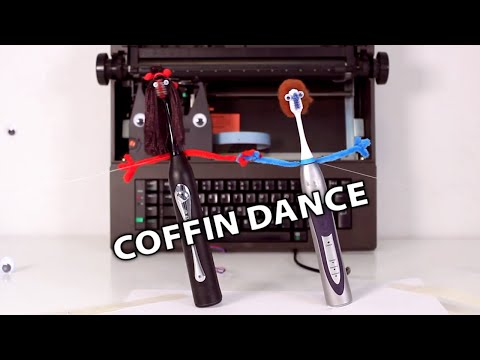 Astronomia (Coffin Dance) on Electric Toothbrushes