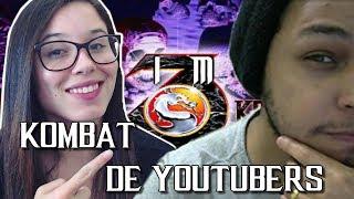 Kombat entre YOUTUBERS#1 Ensinando Elektra Games a Jogar Ultimate Mortal Kombat 3