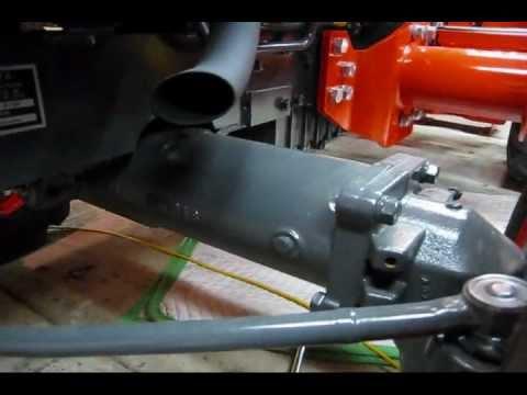 Kubota L3400 HST 50 Hour Service (Part 3: Front Axle Case Oil Change)