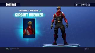 Fortnite battle royale - Buying circuit breaker the new skin