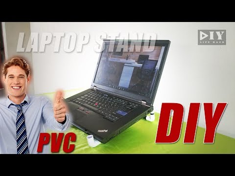DIY Cooling Pad for Laptop using PVC create idea