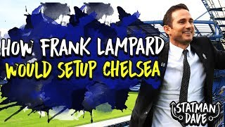 How Would Lampard Set Up Chelsea Starting XI, Formation & Transfers