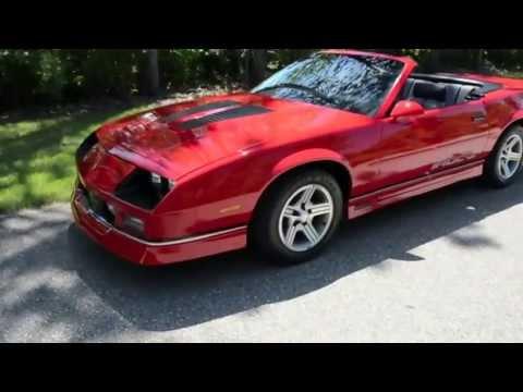 Rev It Motors >> 1990 Chevrolet Camaro IROC Z Convertible from Rev Up ...