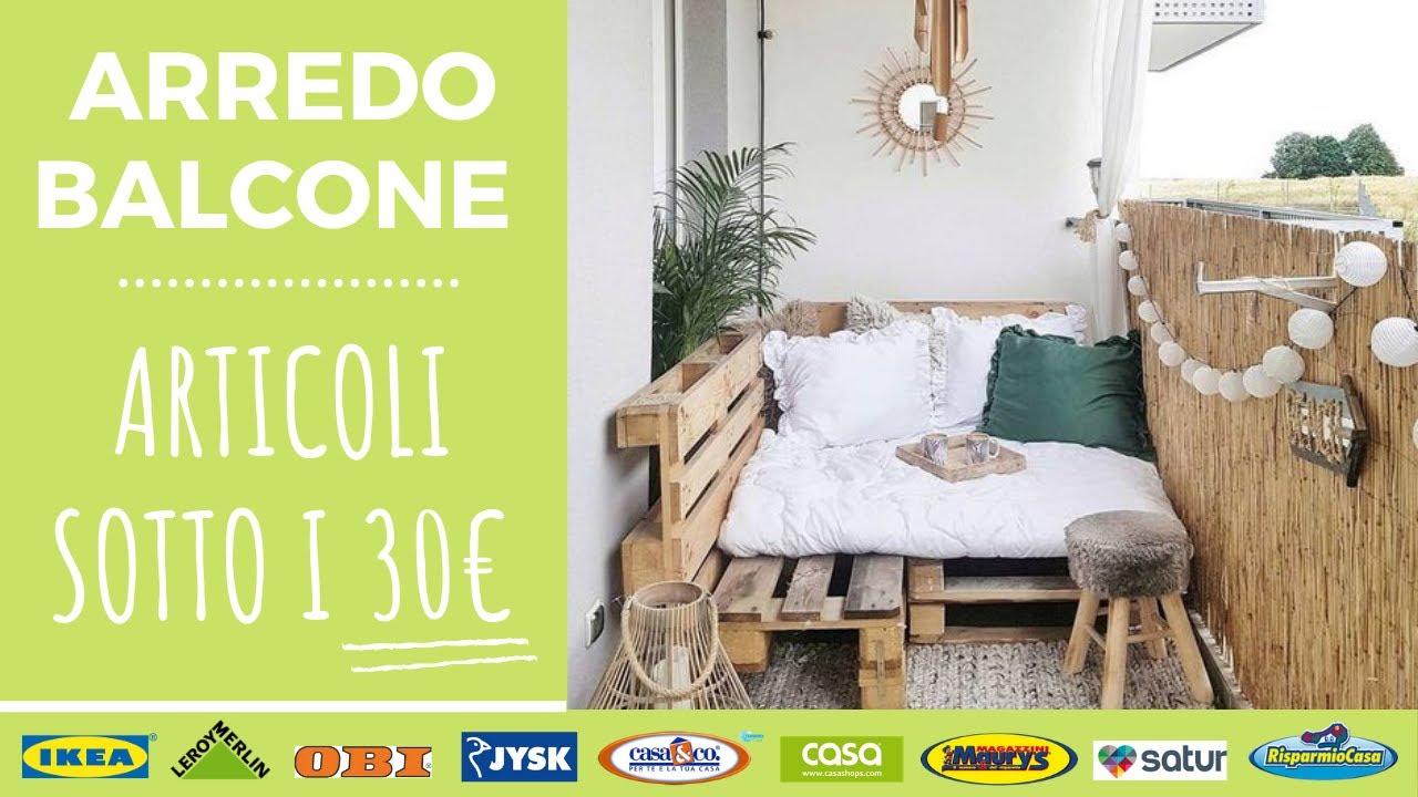 Arredare Il Balcone Ikea arredare un balcone con articoli sotto i 30€ | primavera 2020