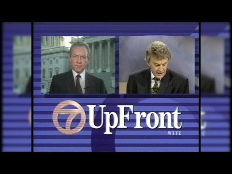 Bill Bonds confronts Utah Senator Orrin Hatch in 1991 interview