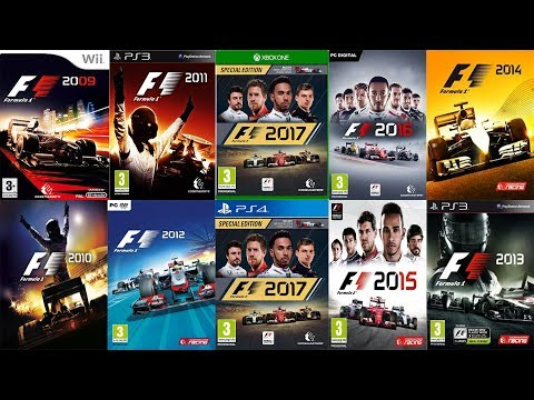 (F1 2009 - F1 2017) EVERY CODEMASTERS F1 TRAILER UPDATED 2017 VERSION