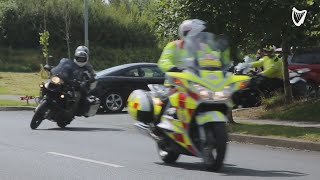 WATCH: Blood Bikes East - Motorcyclists ride out for Brian O'Callaghan-Westropp Memorial Run