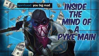 INSIDE THE MIND OF A PYKE MAIN || PYKE MONTAGE
