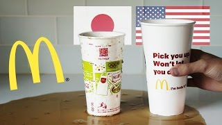 McDonald's Cup Size: USA Vs. Japan