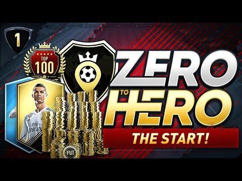 FIFA 18 ZERO TO HERO - THE START!
