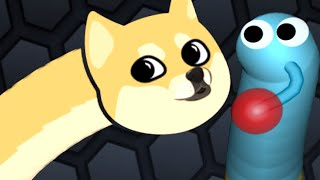 Slither.io - The Cutest DOGE Snake - Slitherio Epic Plays