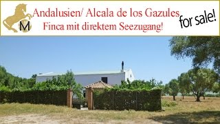 Finca mit Seezugang, Alcala de los Gazules, Provinz Cadiz, Andalusien zu verkaufen