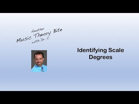Identifying Scale Degrees