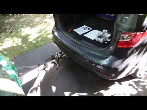 2014 Mazda 5 Trailer Wiring Harness w/ non-factory installation modification & some DIY tips