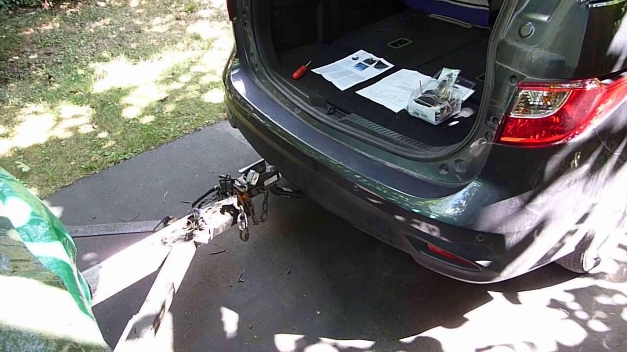 Mazda 5 Trailer Wiring Harness W Non Factory
