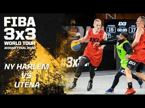 NY Harlem v Utena | Full Game | FIBA 3x3 World Tour - Jeddah Final 2020