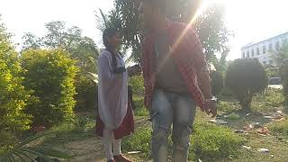 Funny and love scene in auditions of Short movie