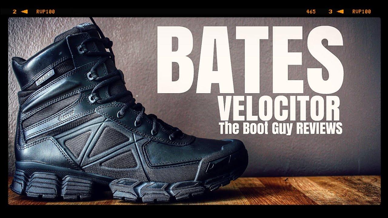 Bates Mens Velocitor Waterproof Side Zip Boot