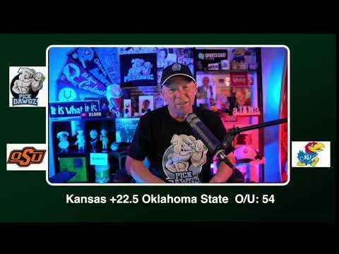 Kansas vs Oklahoma State Free College Football Picks and Predictions CFB Tips Saturday 10/3/20