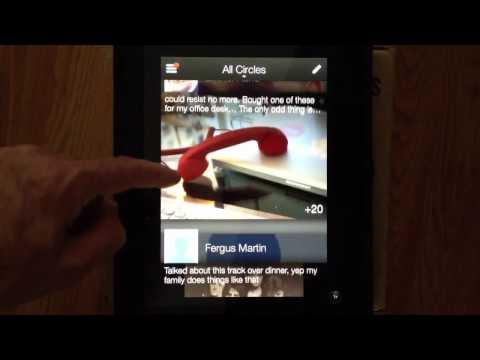 Mike Elgan tries the new Google+ app on iPad