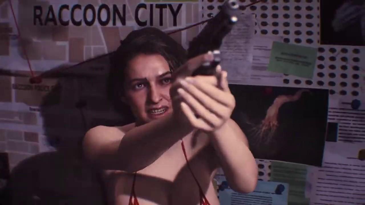 Resident Evil 3 Remake Jill Valentine in Vallejo Bikini