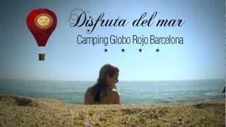 Camping Globo Rojo Barcelona -playa
