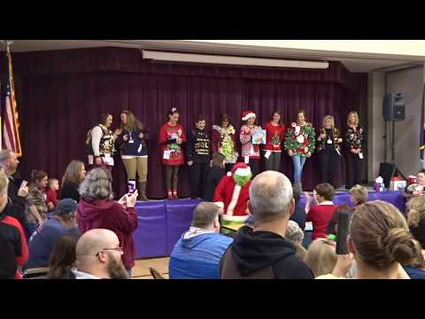 Max Meadows Elementary School Christmas Concert 2017