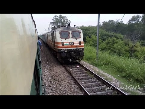JOURNEY COMPILATION: NEW DELHI-GHAZIABAD Spotting RAJDHANI |