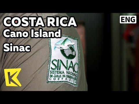 【K】Costa Rica Travel-Cano Island[코스타리카 여행-까뇨섬]자연보호관리국 시낙/Sinac/Nature conservancy/Management office