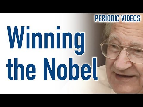 What's it like to win a Nobel Prize?
