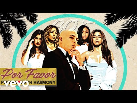Pitbull  POR FAVOR Audio ft Fifth Harmony