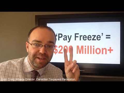 Alberta teachers' pay freeze?