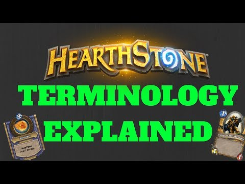 HEARTHSTONE LINGO EXPLAINED! The Complete Hearthstone Dictionary (2019)