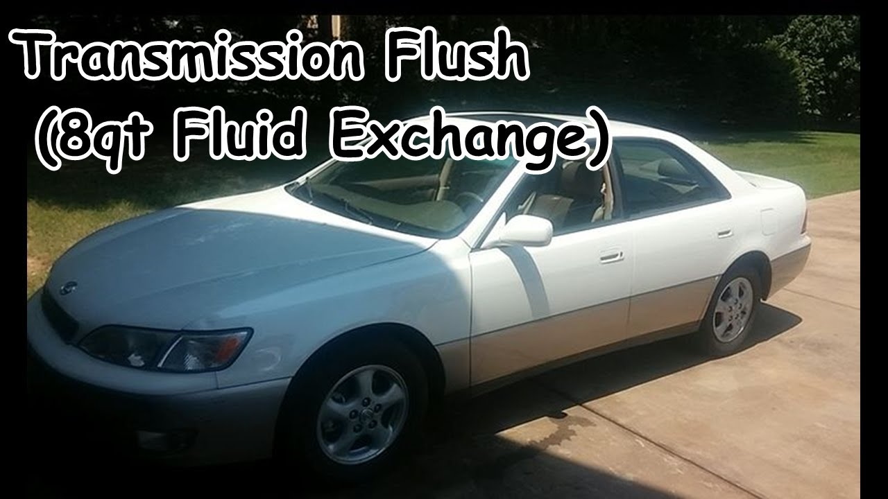 toyota camry atf transmission fluid flush exchange or replacement with video axleaddict [ 1280 x 720 Pixel ]