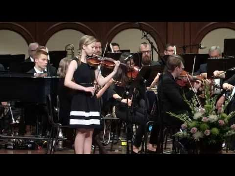 This Is My Father's World - Violin and Piano with Orchestra (hymn)