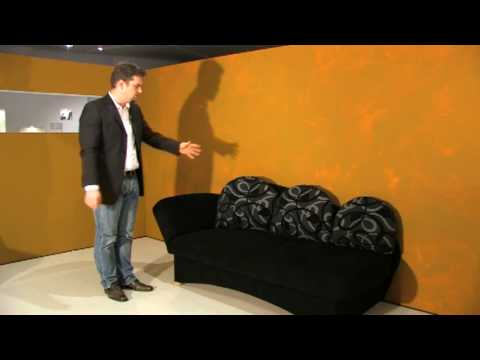 schlafsofa berlin studioliege mit bettkasten lattenrost und federkern youtube. Black Bedroom Furniture Sets. Home Design Ideas