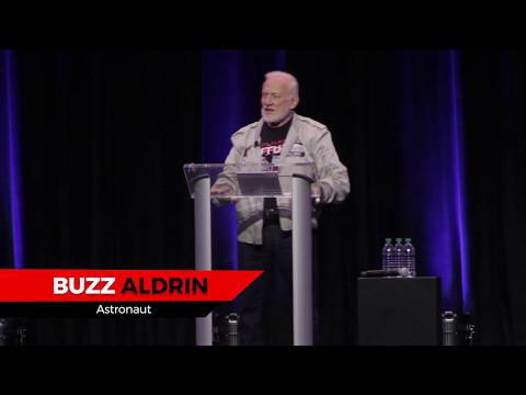 Buzz Aldrin's Opening Speech, Silicon Valley Comic Con 2017