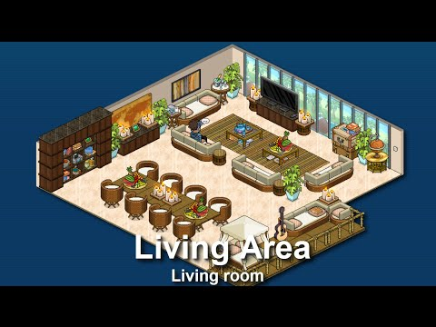 How to build a habbo living area sitting room youtube for How to find a good builder in your area
