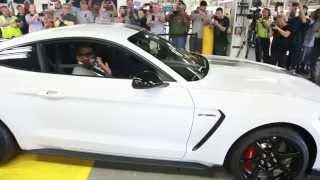 موستانج تدخل خطوط الإنتاج Ford Shelby GT350R شاهد بالفيديو .. فورد شلبي