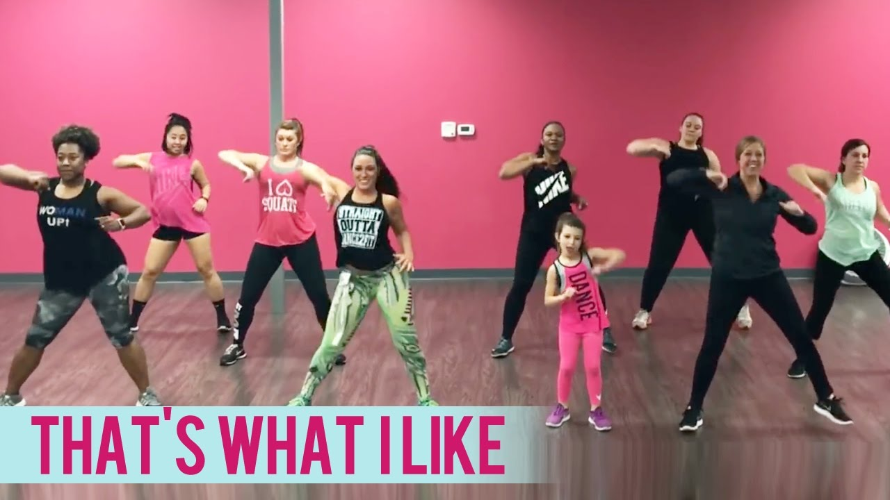 Bruno Mars Thats What I Like Dance Fitness With Jessica Youtube