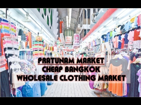 Pratunam Market Tour + Sabx2 Wanton Mee