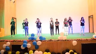 Freshers Party of Management Department | AKS News | AKS University
