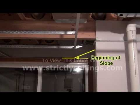 How To Install A Suspended Ceiling Building Stairwell Slopes | False Ceiling On Stairs | Residential | Pvc Panel Ceiling | Kitchen | Traditional | Living Room Hardiflex Ceiling
