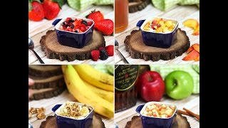 Cottage Cheese with Fruit: 4 Ways | Breakfast