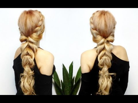 EASY HAIRSTYLE FOR LONG HAIR ROMANTIC AND EASY BRAIDED UPSTYLE | Awesome  Hairstyles ✓
