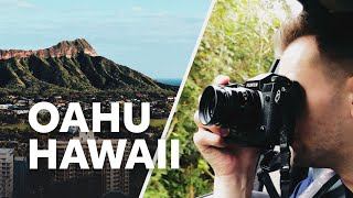 FIRST TIME in HAWAII — Oahu Photography Travel Vlog