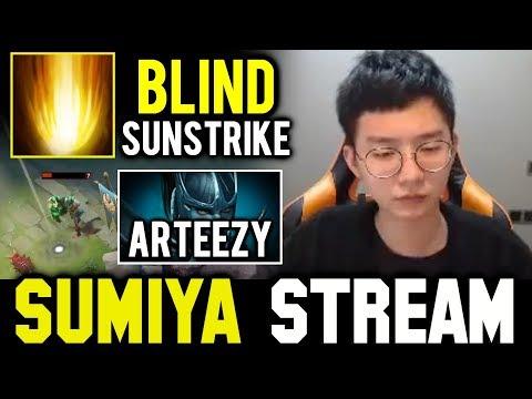 SUMIYA 16min Fast Game with Arteezy ft Blind Sunstrike | Sumiya Invoker Stream Moment #501
