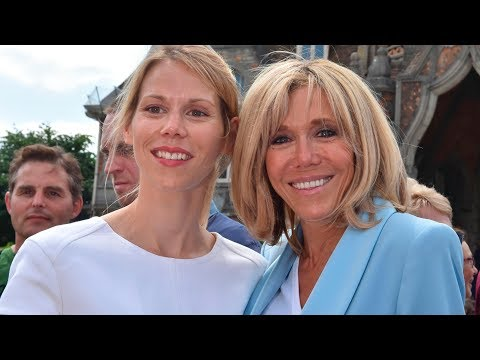 Brigitte Macron's daughter about her mother's love story with Emmanuel Macron from YouTube · Duration:  2 minutes 17 seconds