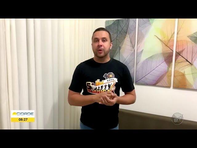 Convite às bandas 5ª da Boa Música - EPTV Sul de Minas