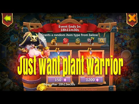 F2P Spend 12000 Gems On Pirate Booty Castle Clash